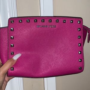 Small MK crossbody bag (Pink)